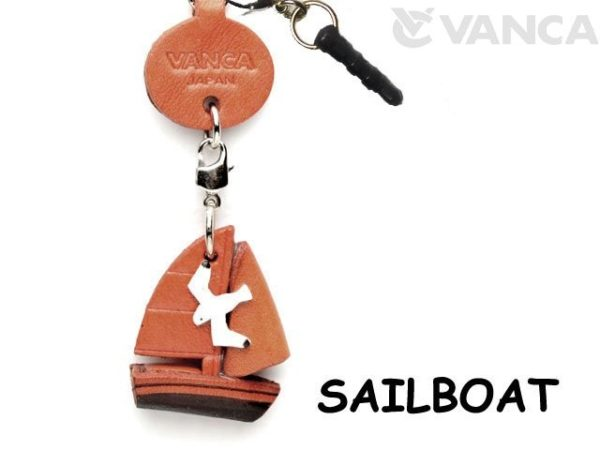 SAILBOAT LEATHER GOODS EARPHONE JACK ACCESSORY