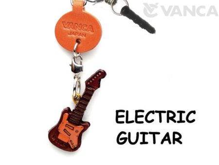 ELECTRIC GUITAR LEATHER GOODS EARPHONE JACK ACCESSORY