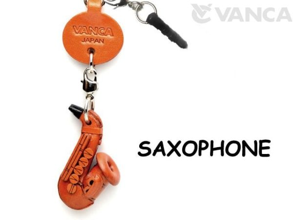 SAXOPHONE LEATHER GOODS EARPHONE JACK ACCESSORY