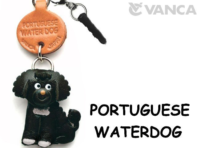 PORTUGUESE WATER DOG LEATHER DOG EARPHONE JACK ACCESSORY