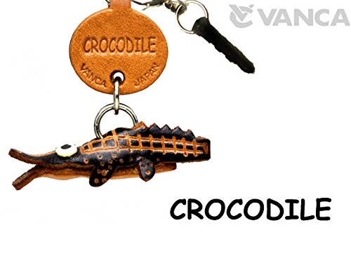 CROCODILE LEATHER FISH & SEA ANIMAL EARPHONE JACK ACCESSORY