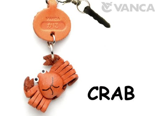 CRAB LEATHER FISH & SEA ANIMAL EARPHONE JACK ACCESSORY