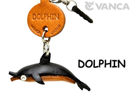 DOLPHIN LEATHER FISH & SEA ANIMAL EARPHONE JACK ACCESSORY