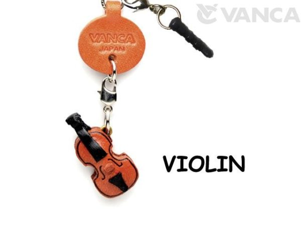 VIOLIN LEATHER GOODS EARPHONE JACK ACCESSORY