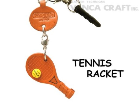 TENNIS RACKET LEATHER GOODS EARPHONE JACK ACCESSORY