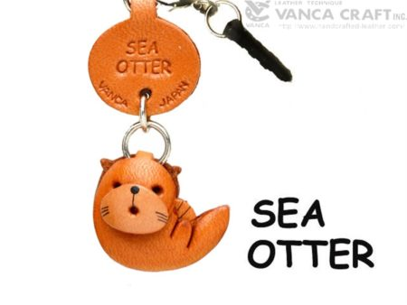 SEA OTTER LEATHER FISH & SEA ANIMAL EARPHONE JACK ACCESSORY