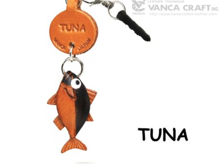 TUNA LEATHER FISH & SEA ANIMAL EARPHONE JACK ACCESSORY