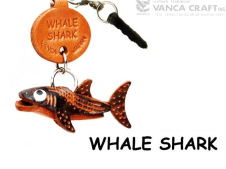 WHALE SHARK LOBSTER LEATHER FISH & SEA ANIMAL EARPHONE JACK ACCESSORY