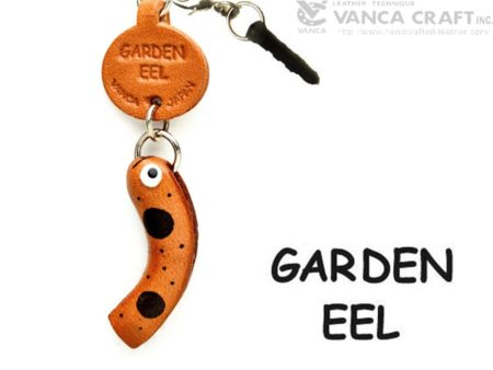 GARDEN EEL LEATHER FISH & SEA ANIMAL EARPHONE JACK ACCESSORY