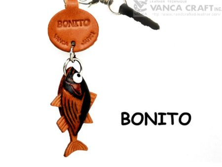 BONITO LEATHER FISH & SEA ANIMAL EARPHONE JACK ACCESSORY