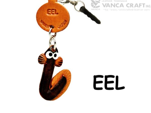 EEL LEATHER FISH & SEA ANIMAL EARPHONE JACK ACCESSORY