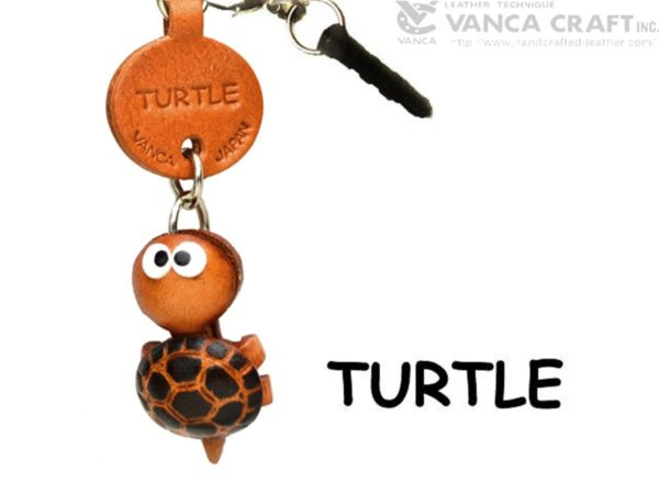 TURTLE LEATHER FISH & SEA ANIMAL EARPHONE JACK ACCESSORY